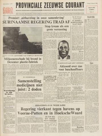 Provinciale Zeeuwse Courant 1969-02-14