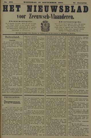 Nieuwsblad voor Zeeuwsch-Vlaanderen 1900-09-19