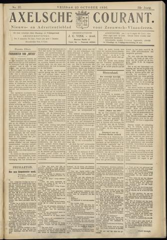 Axelsche Courant 1936-10-23