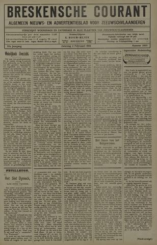 Breskensche Courant 1924-02-02