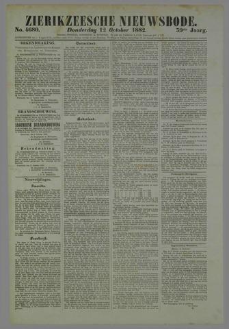 Zierikzeesche Nieuwsbode 1882-10-12