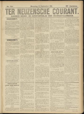 Ter Neuzensche Courant. Algemeen Nieuws- en Advertentieblad voor Zeeuwsch-Vlaanderen / Neuzensche Courant ... (idem) / (Algemeen) nieuws en advertentieblad voor Zeeuwsch-Vlaanderen 1921-09-12