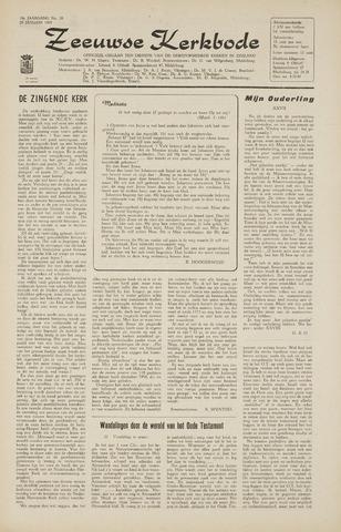 Zeeuwsche kerkbode, weekblad gewijd aan de belangen der gereformeerde kerken/ Zeeuwsch kerkblad 1965-01-29