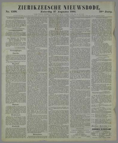 Zierikzeesche Nieuwsbode 1881-08-27
