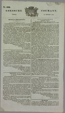 Goessche Courant 1834-12-22
