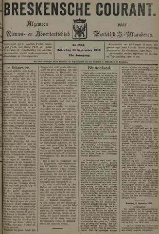 Breskensche Courant 1913-09-13