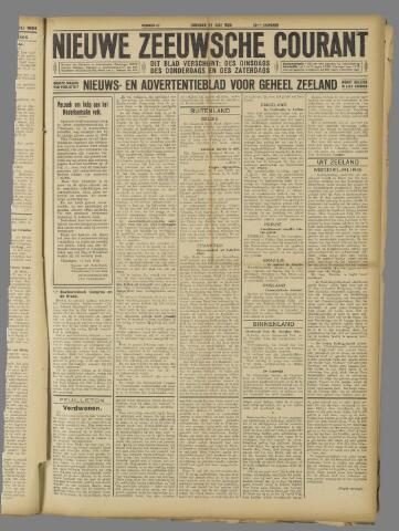 Nieuwe Zeeuwsche Courant 1924-07-22