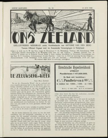 Ons Zeeland / Zeeuwsche editie 1928-06-30