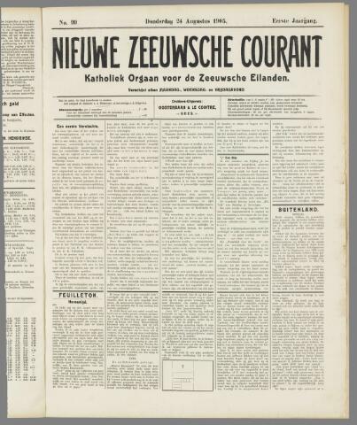 Nieuwe Zeeuwsche Courant 1905-08-24