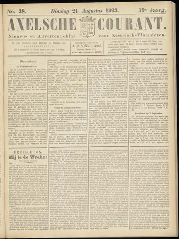 Axelsche Courant 1923-08-21