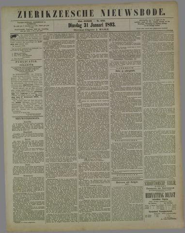 Zierikzeesche Nieuwsbode 1893-01-31