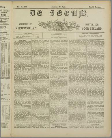 De Zeeuw. Christelijk-historisch nieuwsblad voor Zeeland 1898-04-28
