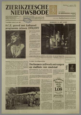 Zierikzeesche Nieuwsbode 1976-08-05