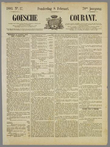 Goessche Courant 1883-02-08