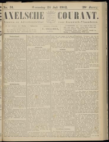 Axelsche Courant 1912-07-24