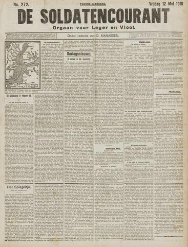 De Soldatencourant. Orgaan voor Leger en Vloot 1916-05-12