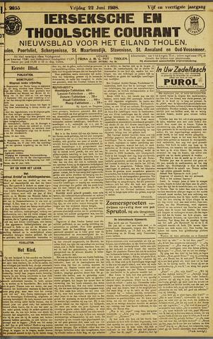 Ierseksche en Thoolsche Courant 1928-06-22