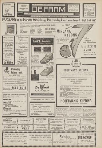 de Faam en de Faam/de Vlissinger 1961-03-31