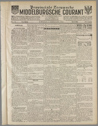 Middelburgsche Courant 1932-02-02