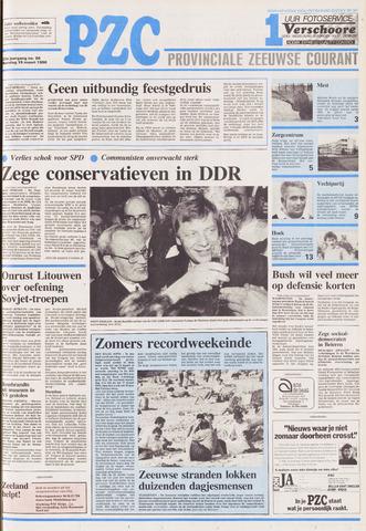 Provinciale Zeeuwse Courant 1990-03-19