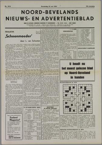 Noord-Bevelands Nieuws- en advertentieblad 1980-05-22