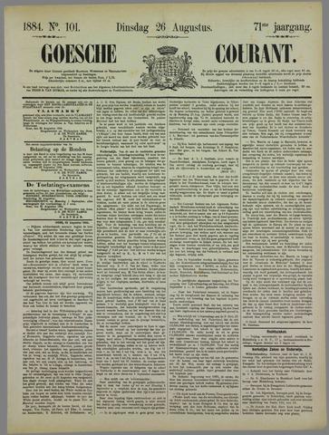 Goessche Courant 1884-08-26
