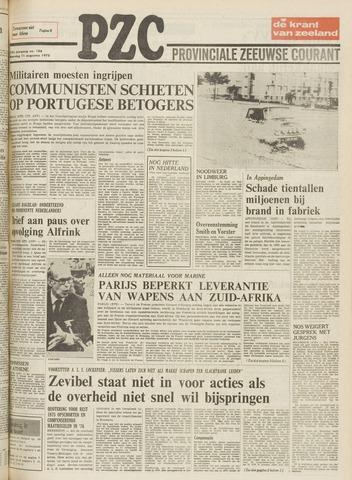 Provinciale Zeeuwse Courant 1975-08-11