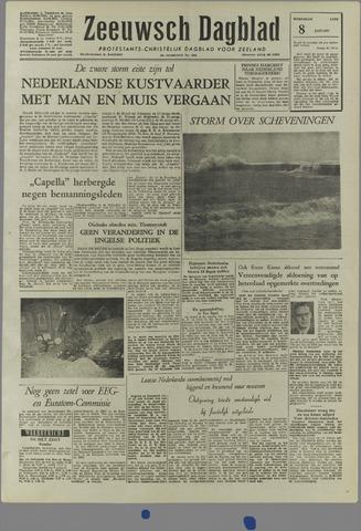 Zeeuwsch Dagblad 1958-01-08