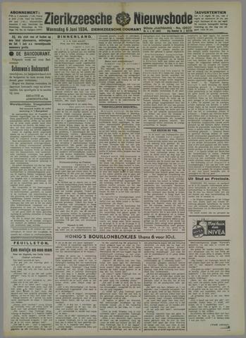 Zierikzeesche Nieuwsbode 1934-06-06