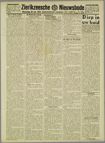 Zierikzeesche Nieuwsbode 1924-01-30