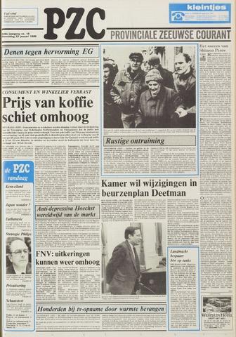 Provinciale Zeeuwse Courant 1986-01-22