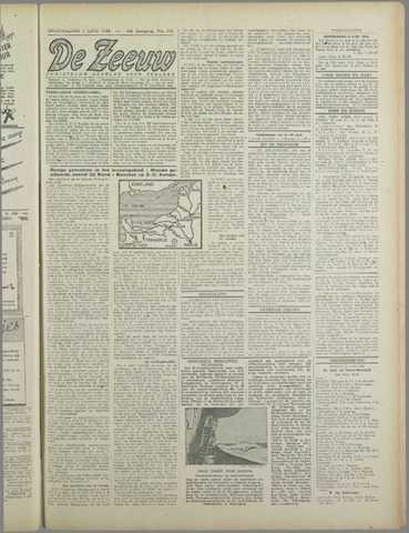 De Zeeuw. Christelijk-historisch nieuwsblad voor Zeeland 1944-06-08