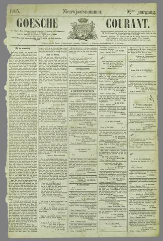 Goessche Courant 1905