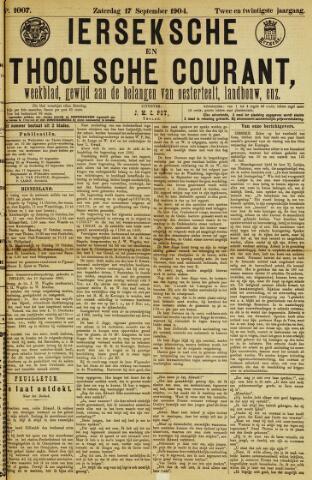 Ierseksche en Thoolsche Courant 1904-09-17