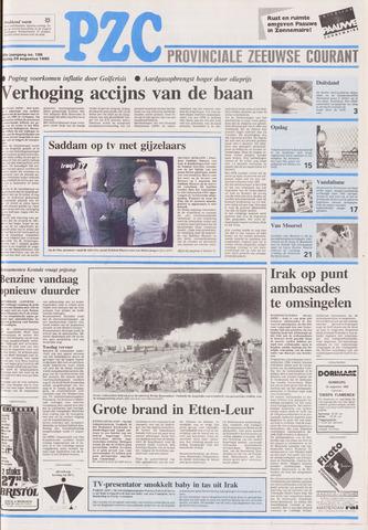 Provinciale Zeeuwse Courant 1990-08-24