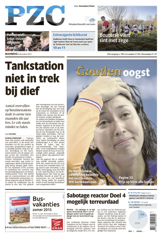Provinciale Zeeuwse Courant 2014-12-08