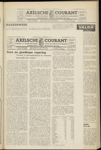 Axelsche Courant 1951-02-21