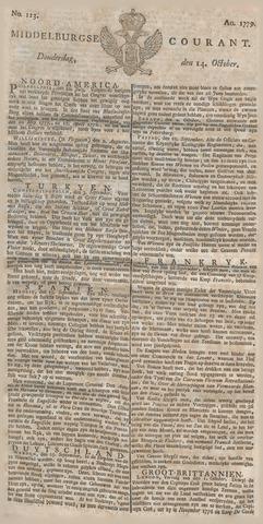 Middelburgsche Courant 1779-10-14