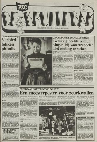 Provinciale Zeeuwse Courant katern Krullenbak (1981-1999) 1988-04-12