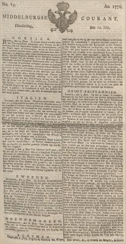 Middelburgsche Courant 1771-07-25