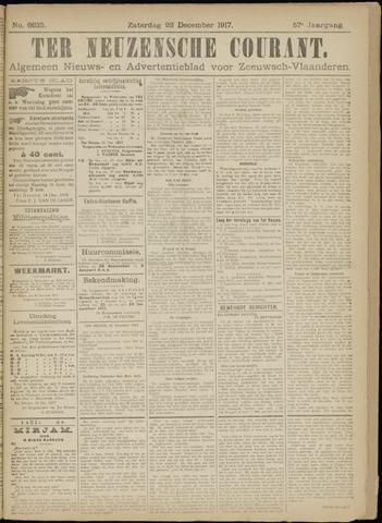 Ter Neuzensche Courant. Algemeen Nieuws- en Advertentieblad voor Zeeuwsch-Vlaanderen / Neuzensche Courant ... (idem) / (Algemeen) nieuws en advertentieblad voor Zeeuwsch-Vlaanderen 1917-12-22