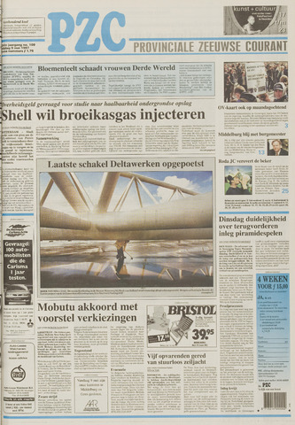 Provinciale Zeeuwse Courant 1997-05-09