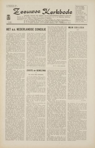 Zeeuwsche kerkbode, weekblad gewijd aan de belangen der gereformeerde kerken/ Zeeuwsch kerkblad 1966-08-12
