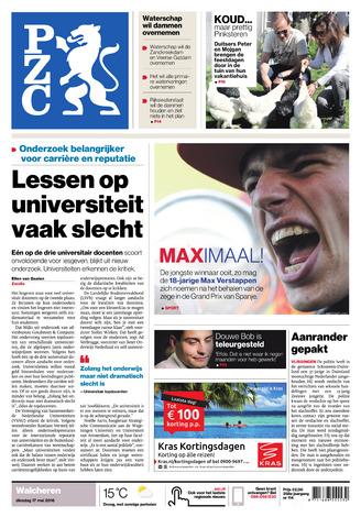Provinciale Zeeuwse Courant 2016-05-17