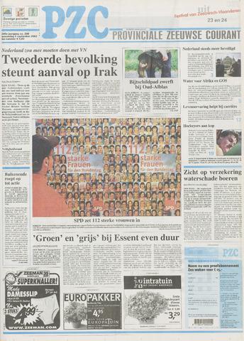 Provinciale Zeeuwse Courant 2002-09-04