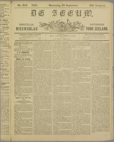 De Zeeuw. Christelijk-historisch nieuwsblad voor Zeeland 1906-09-26