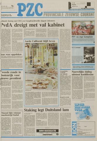 Provinciale Zeeuwse Courant 1992-04-27