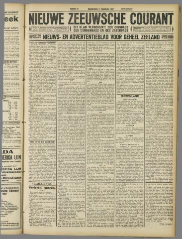 Nieuwe Zeeuwsche Courant 1927-02-17