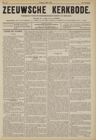 Zeeuwsche kerkbode, weekblad gewijd aan de belangen der gereformeerde kerken/ Zeeuwsch kerkblad 1940-05-03