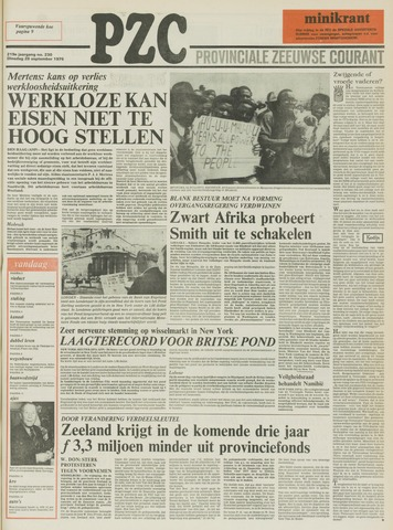 Provinciale Zeeuwse Courant 1976-09-28